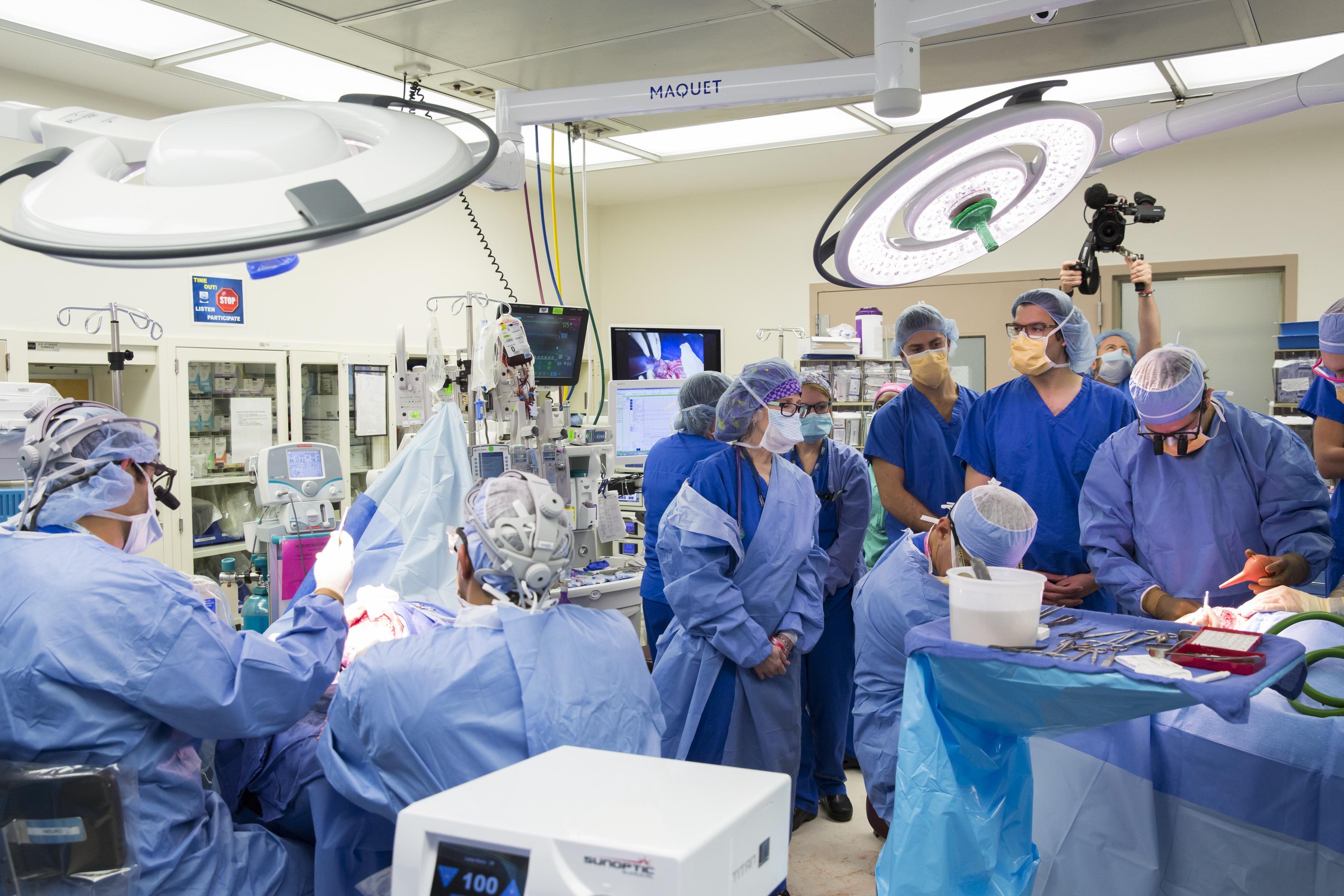 В США проведена уникальная операция по разделению сиамских близнецов, сросшихся головами