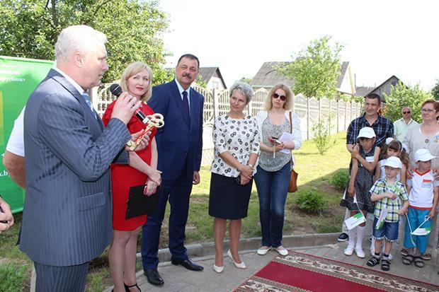 «Беларусбанк» передал еще один коттедж для дома семейного типа