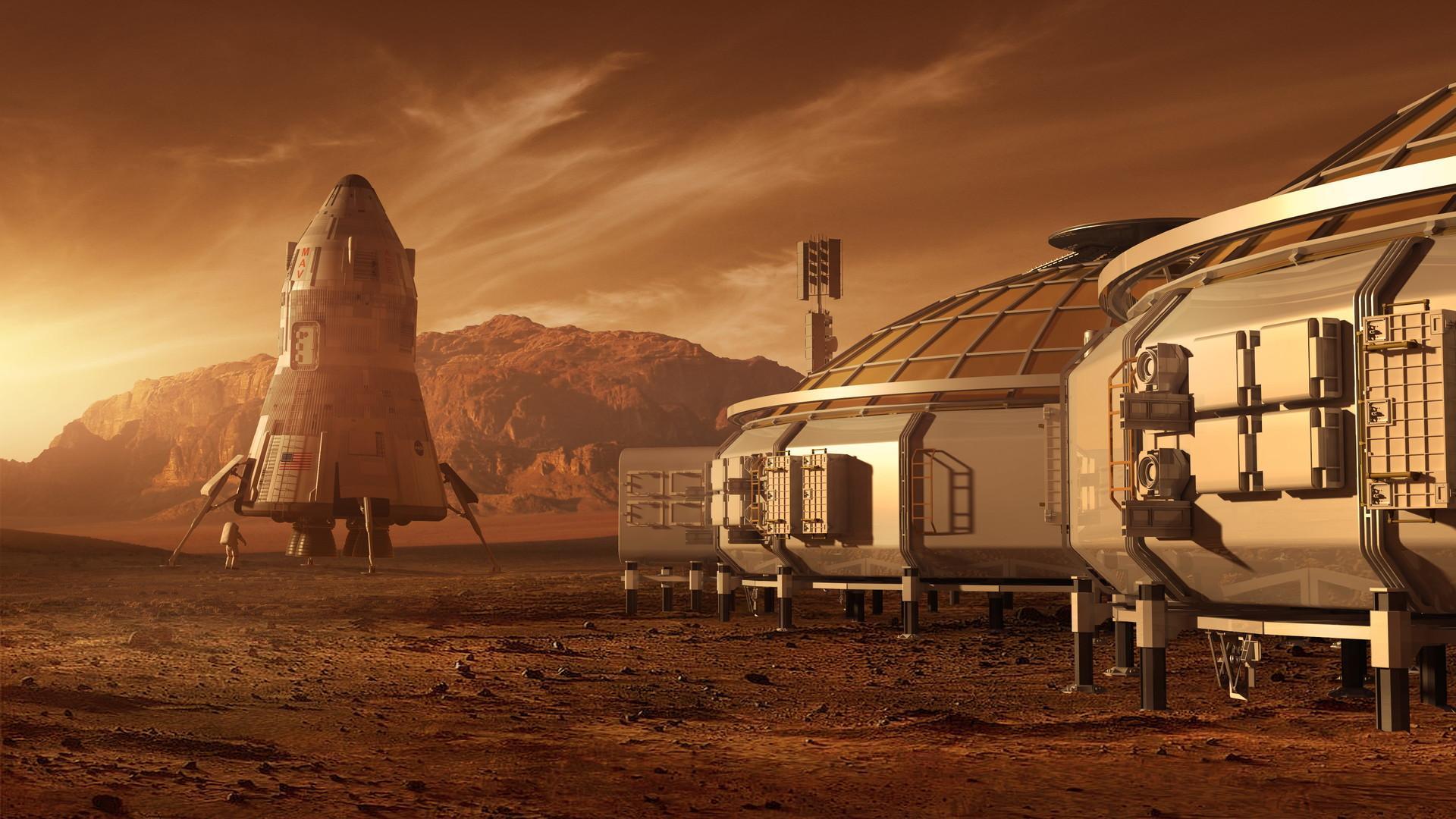 Полет на Марс может привести к слабоумию космонавтов