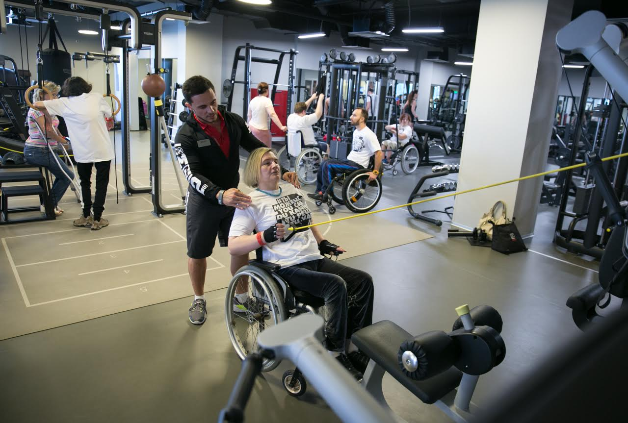 с нового года инвалиды займутся спортом бесплатно