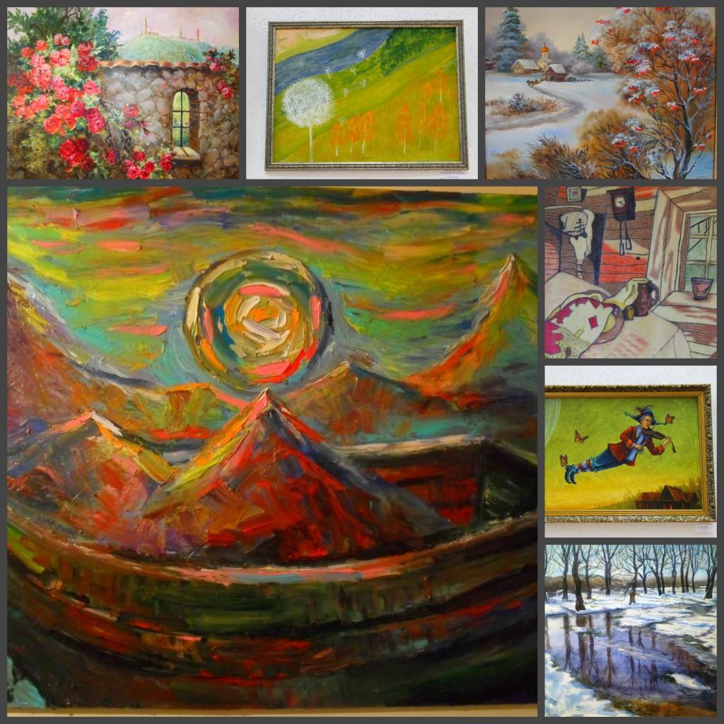 выставка художников, членов ОО БелОИ, проходит в Женеве
