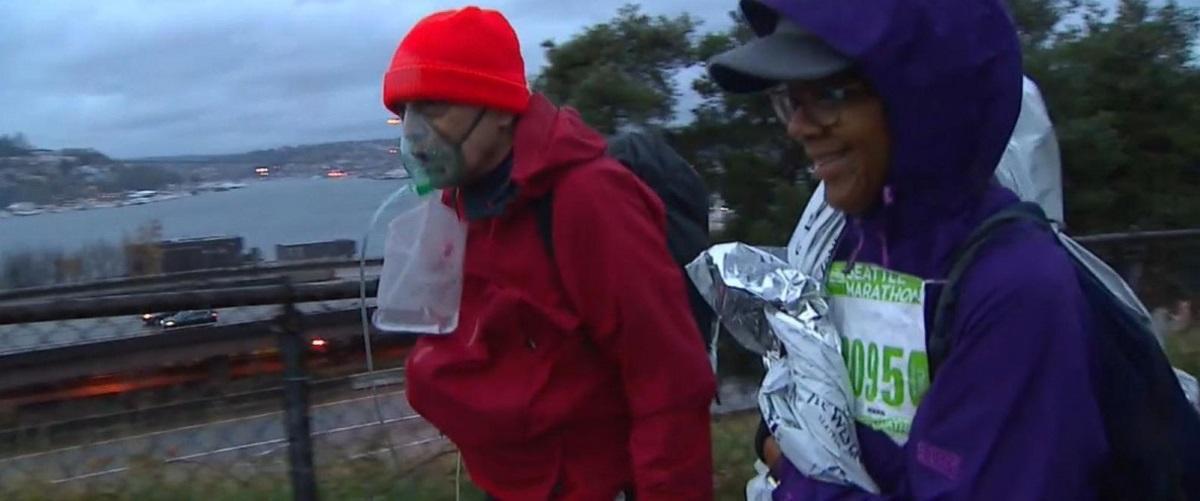 смертельно больной американец преодолел марафон