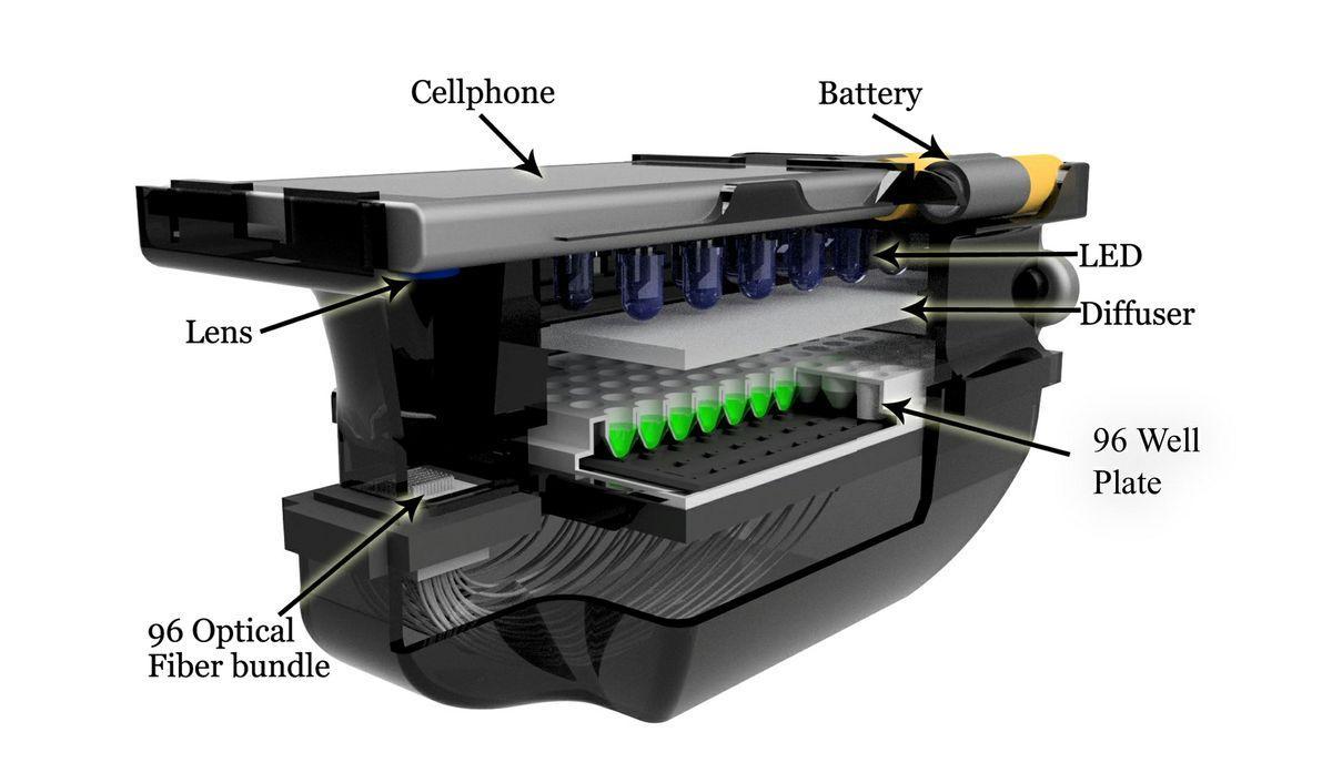восприимчивость бактерий к антибиотикам будут проверять с помощью смартфона
