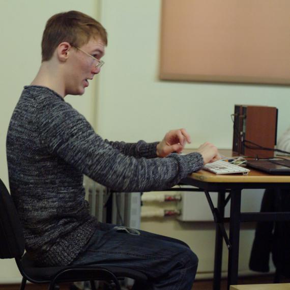 школьник-программист с ДЦП Иван Бакаидов