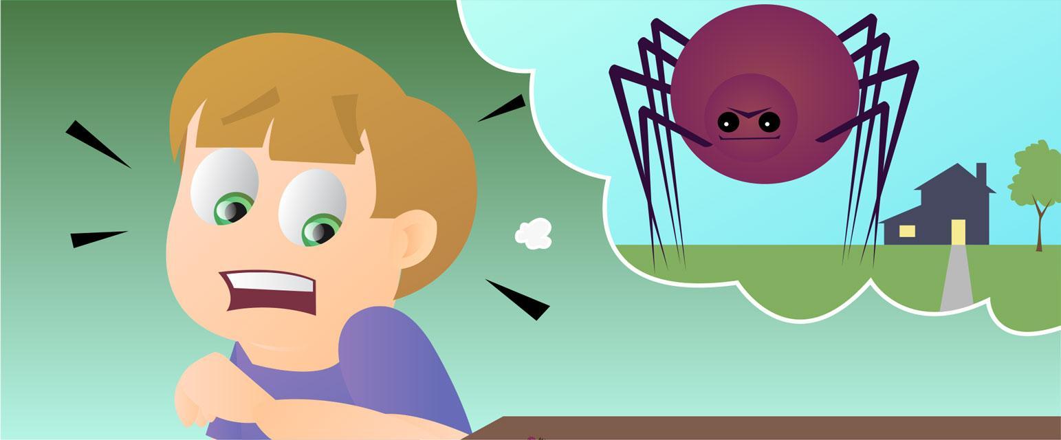 У страха глаза велики: арахнофобы переоценивают размеры пауков