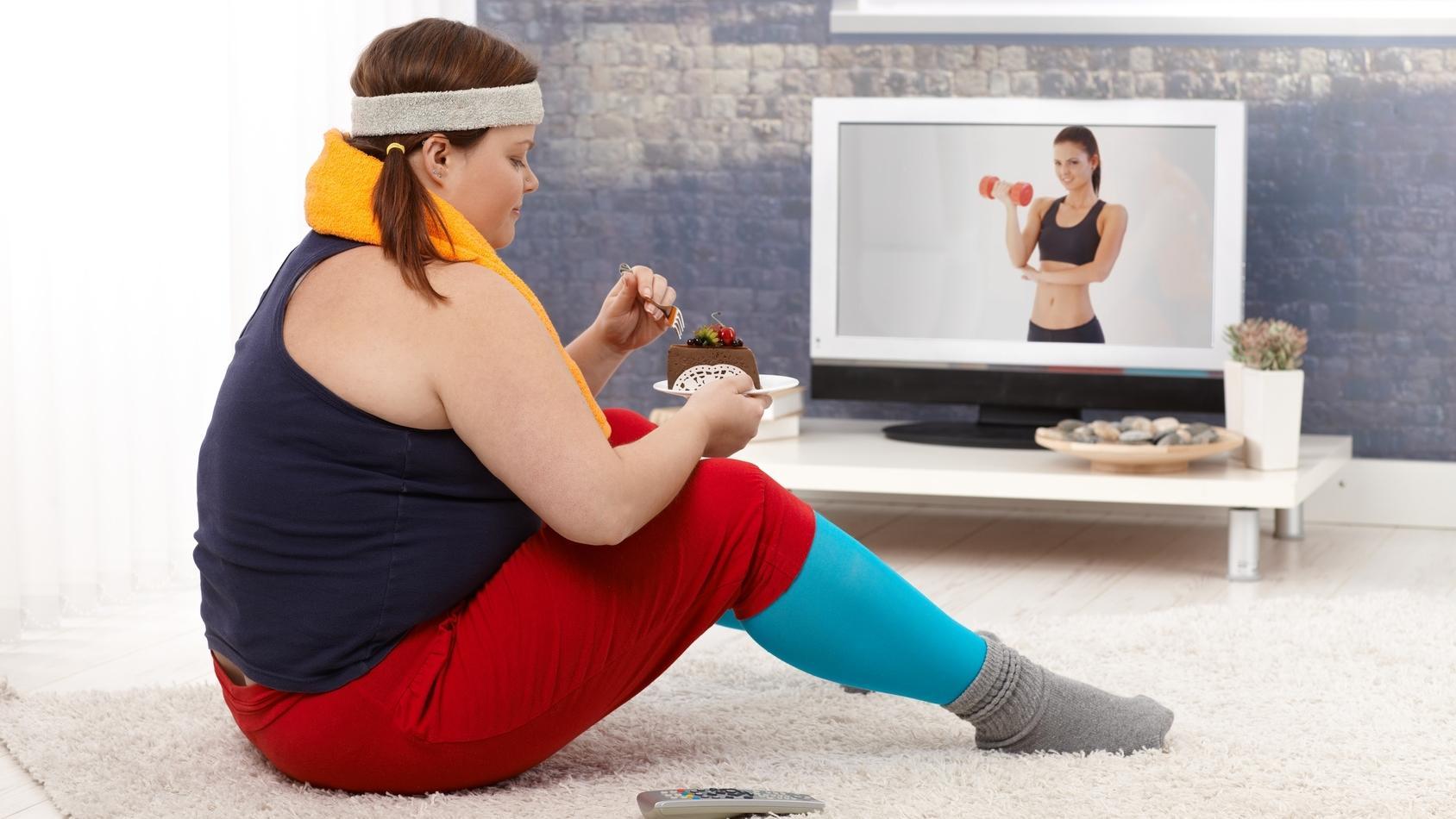 Если не получается похудеть, проблему стоит искать в голове