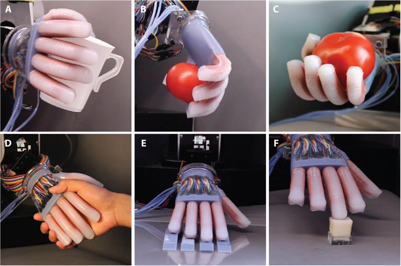 «Оптические нервы» дадут роботам чувство осязания