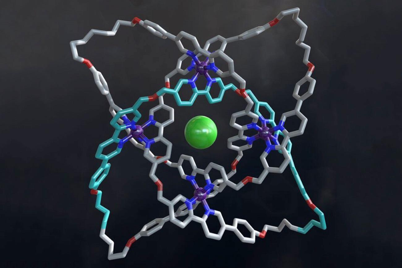 Химики завязали самый тугой молекулярный узел в мирее