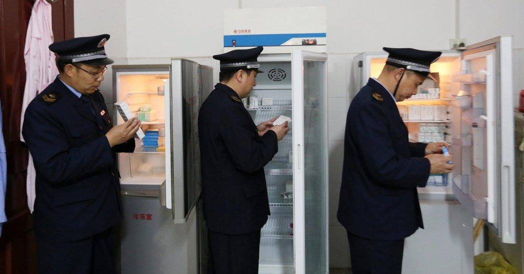 продавцы нелегальных вакцин в Китае осуждены
