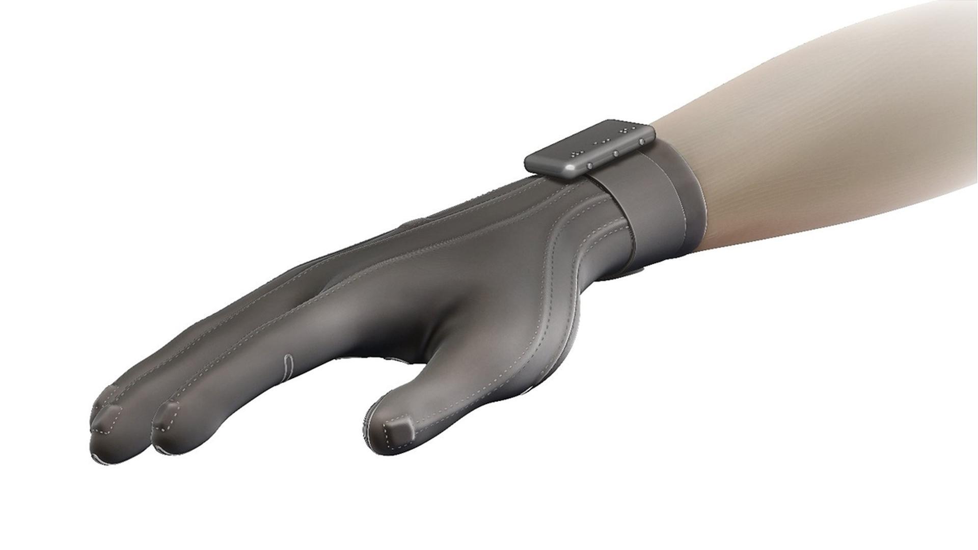 Создана «перчатка Брайля» заменяющая зрение, слух и голос