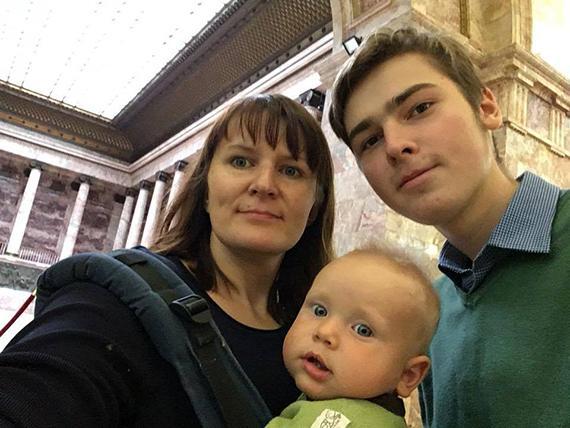 fleshmob fondov k istorii Kati Bermant Nadezhda mama Fedi1 - Рождественский флешмоб: истории успеха