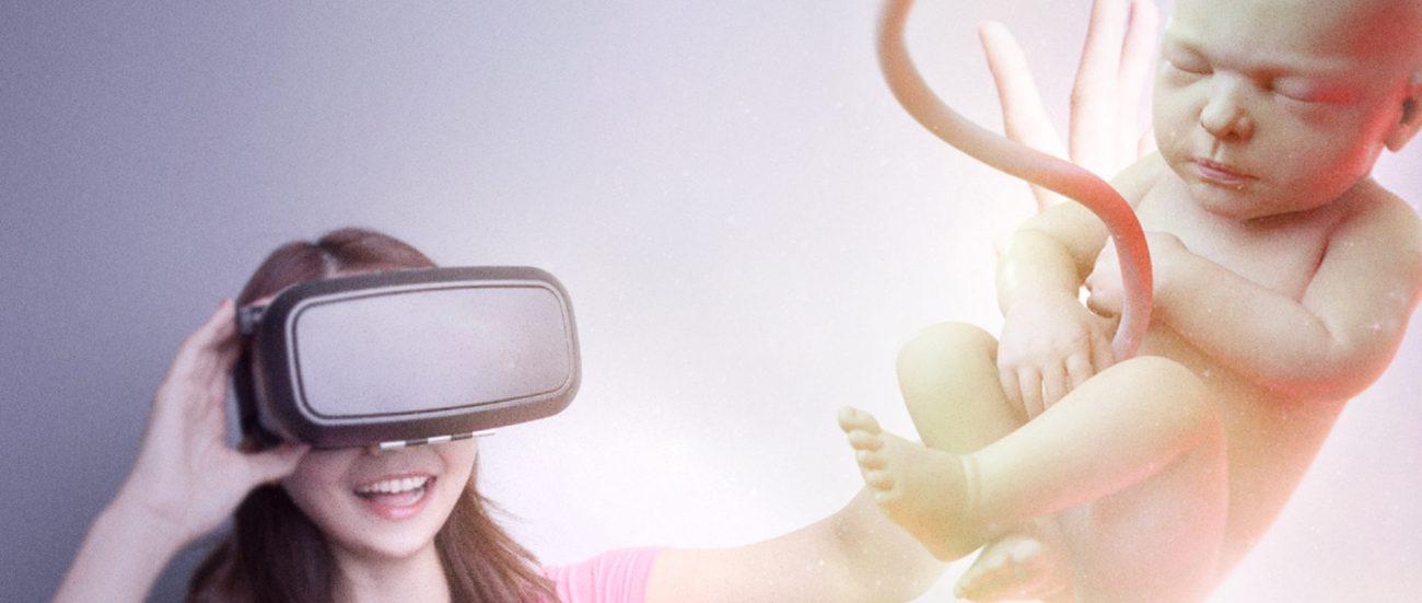 Виртуальная реальность позволила родителям познакомиться с пока ещё не родившейся дочкой