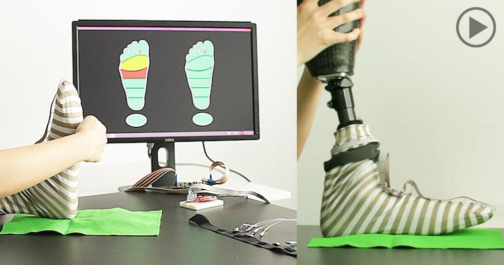 Для протезов создали чувствительный носок