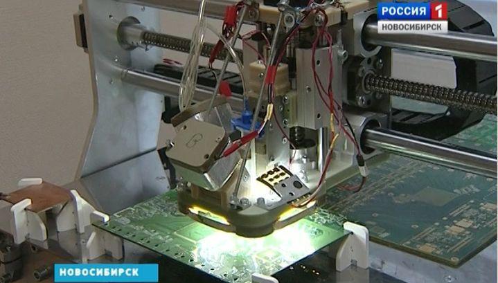 Новосибирские инженеры создали робота, который видит