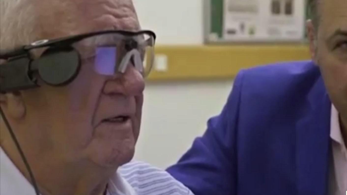 как видит мир человек с бионическим глазом