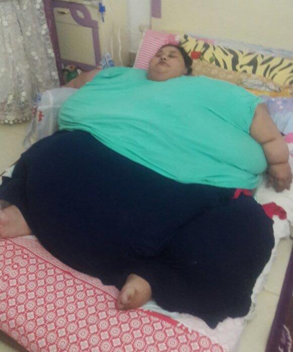 самая тяжелая женщина