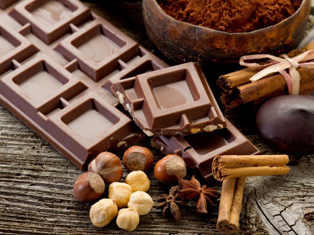 шоколадная таблетка