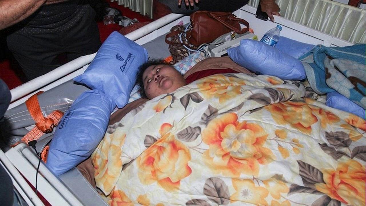 Самая тяжелая женщина в мире прибудет в Индию на лечение