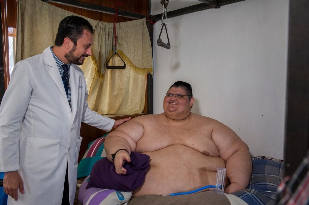 Самый толстый человек на планете весит 500 кг