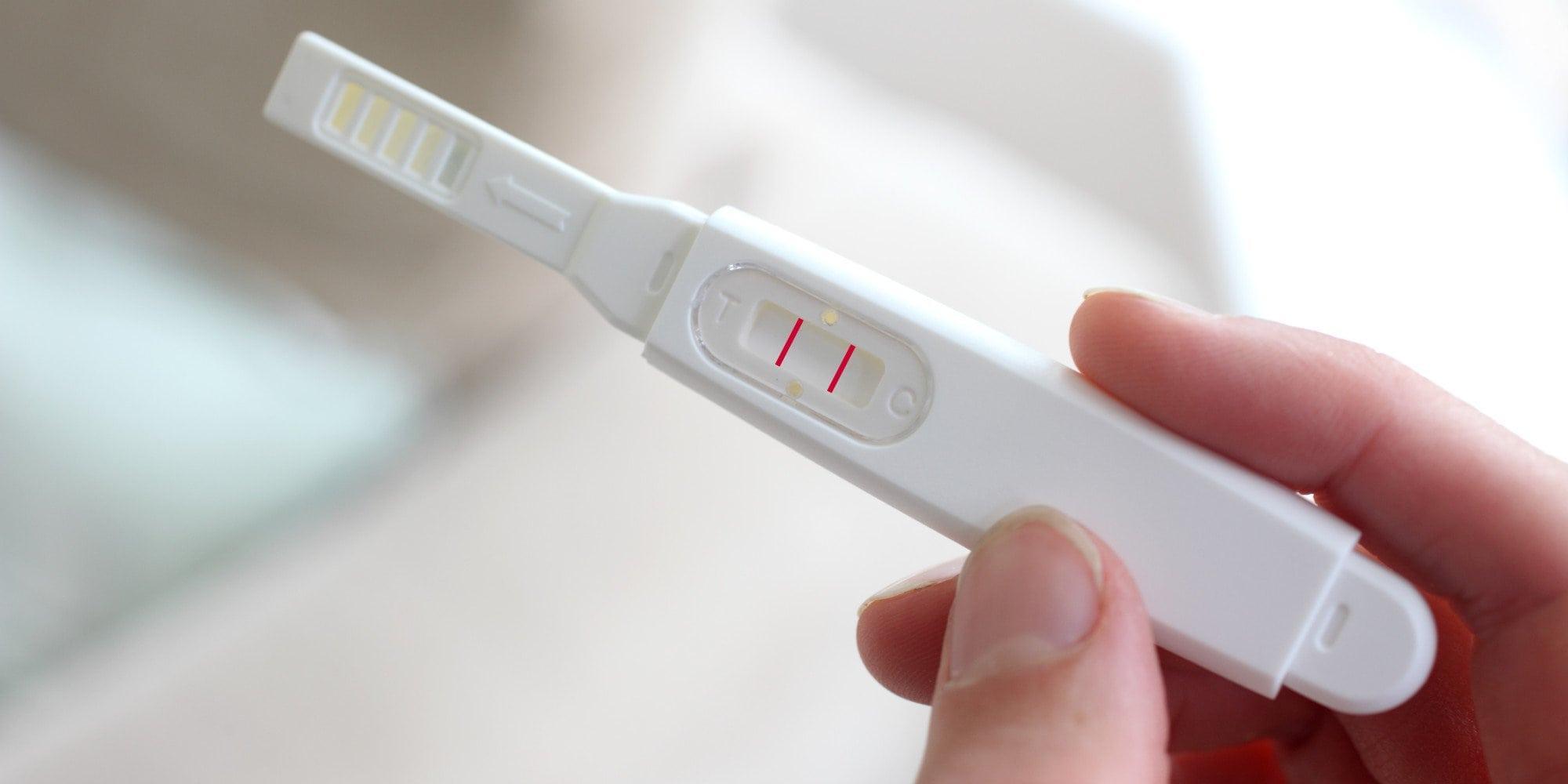 Первые тесты на беременность