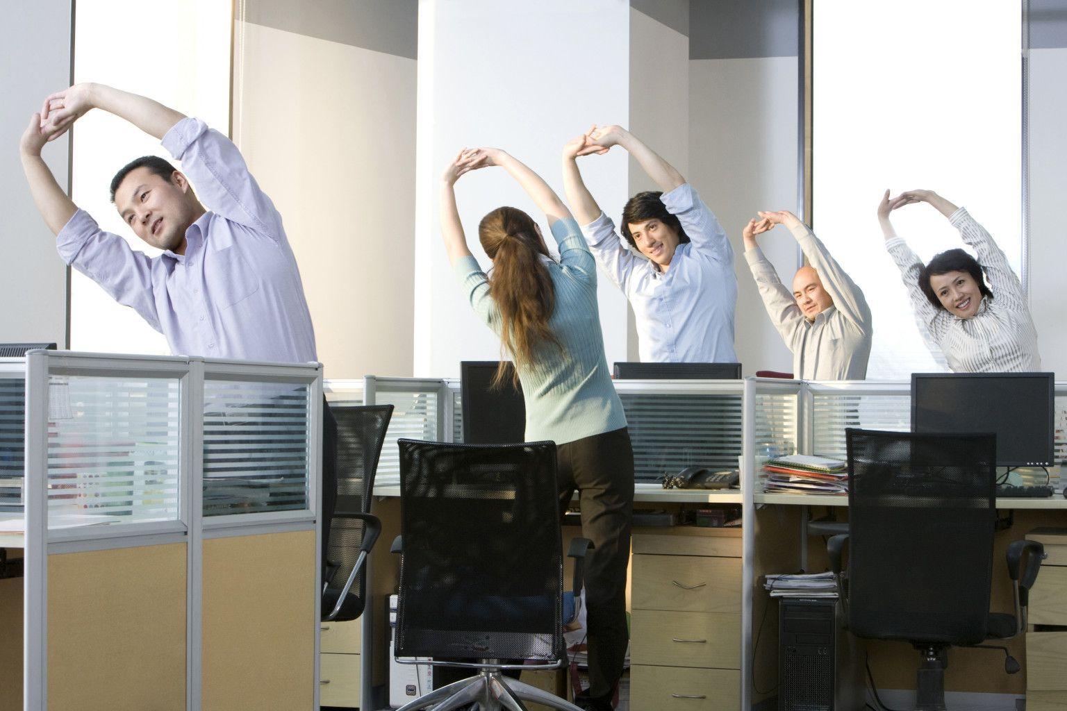 Спорт в офисе усиливает стресс