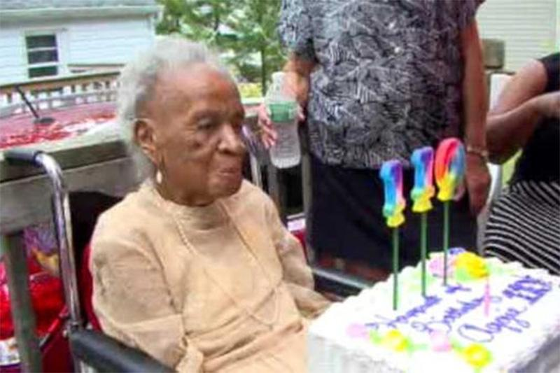 110-летняя американка
