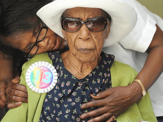 1409925057000 Susannah Mushatt Jones1 - Самая старая женщина планеты всю жизнь питается беконом