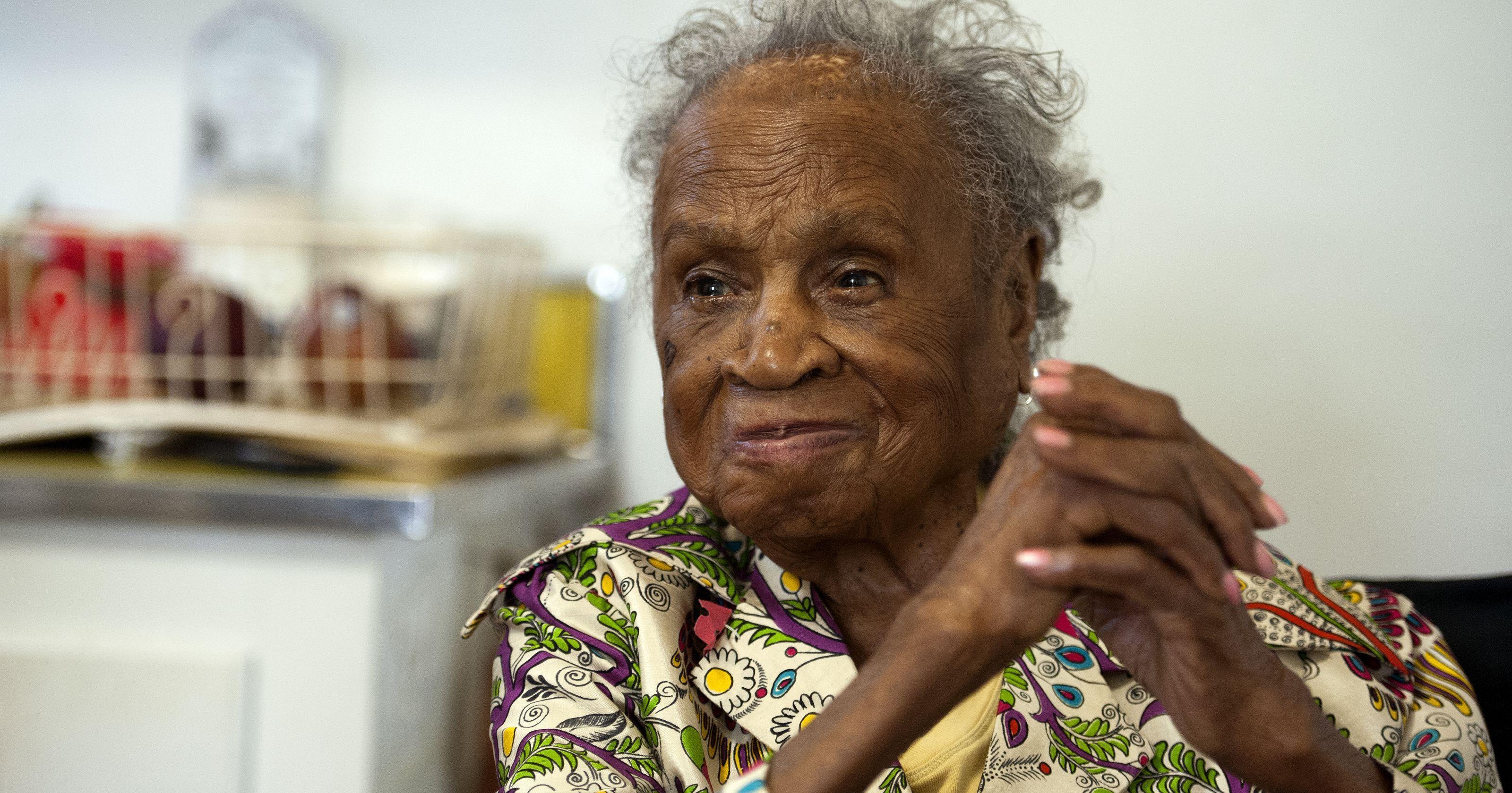 110-летняя американка назвала секретом долголетия пиво и виски