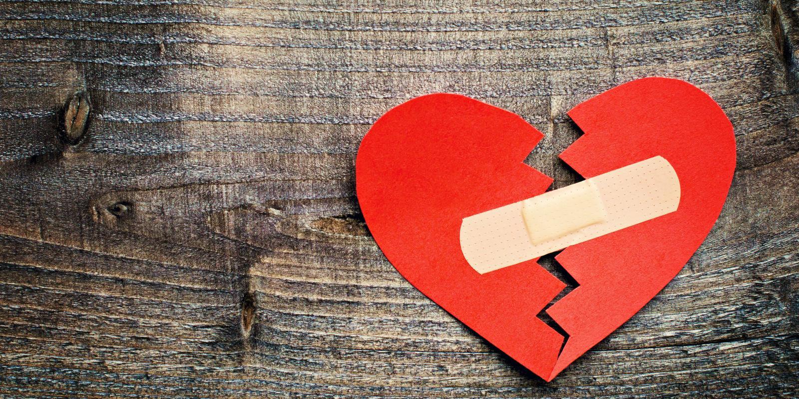 Время не лечит «синдром разбитого сердца»
