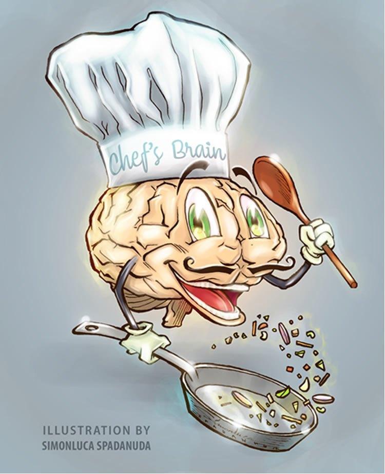 как талант шеф-повара меняет мозг