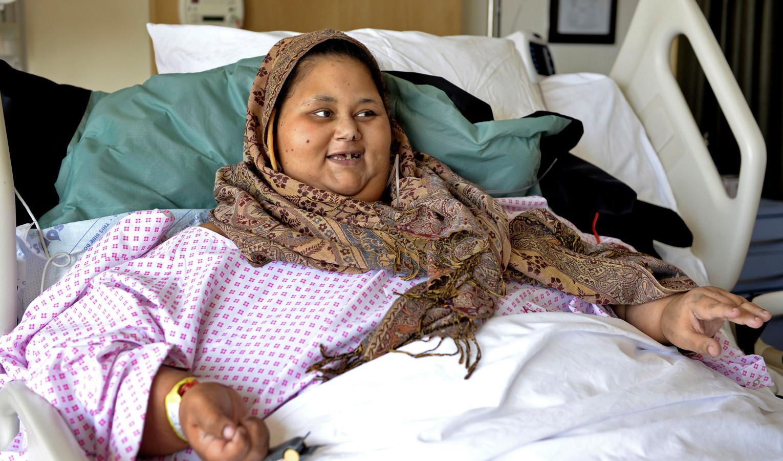 Самой тяжелой женщине в мире сделали операцию на желудке
