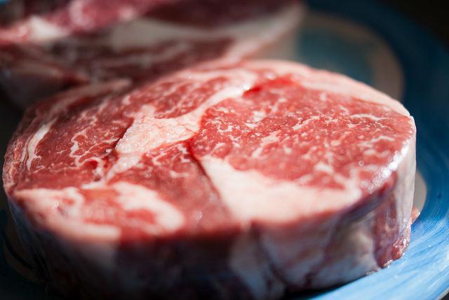 красное мясо и бактерии