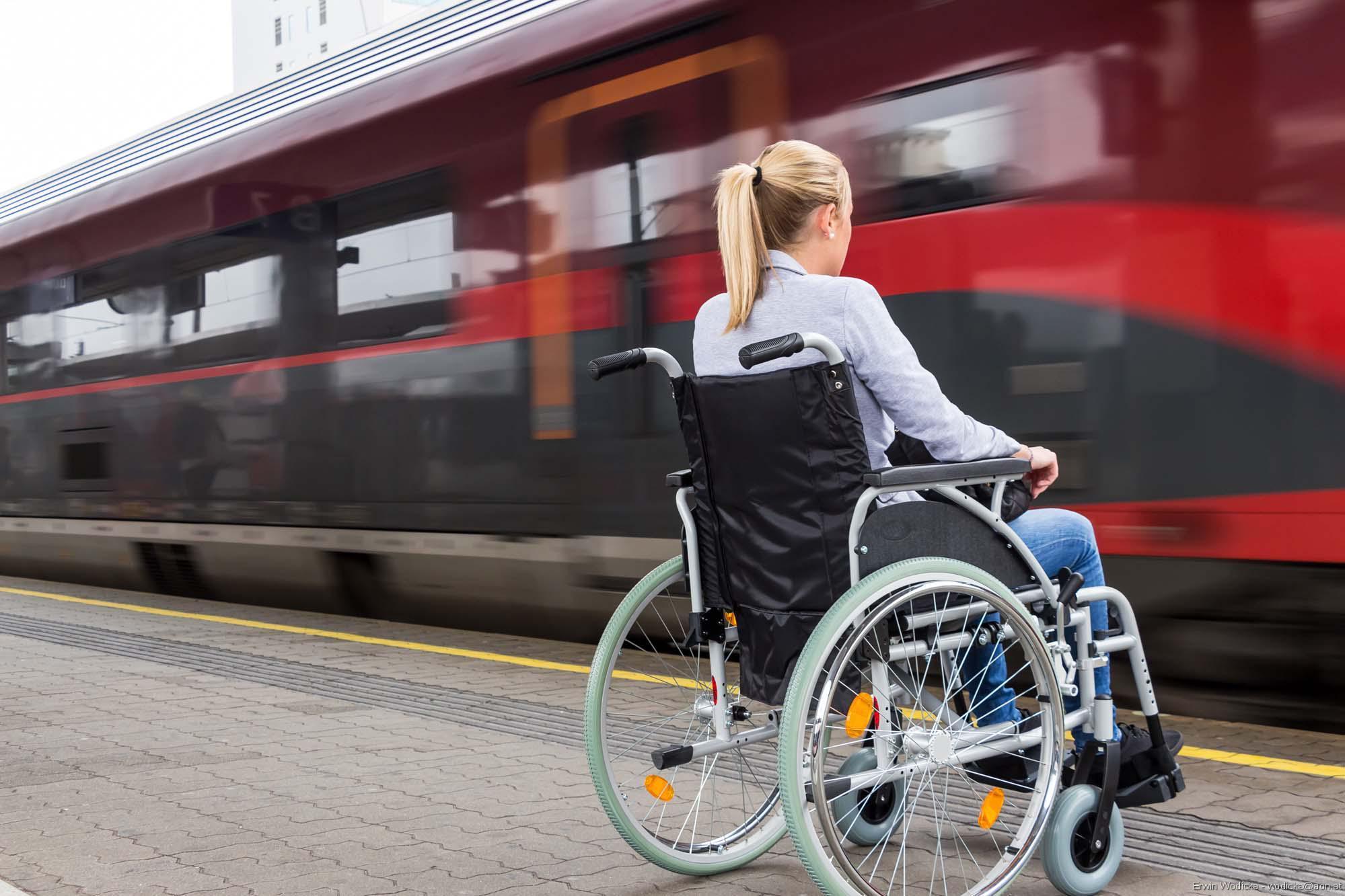 В РЖД начали регистрацию инвалидов для продажи электронных билетов