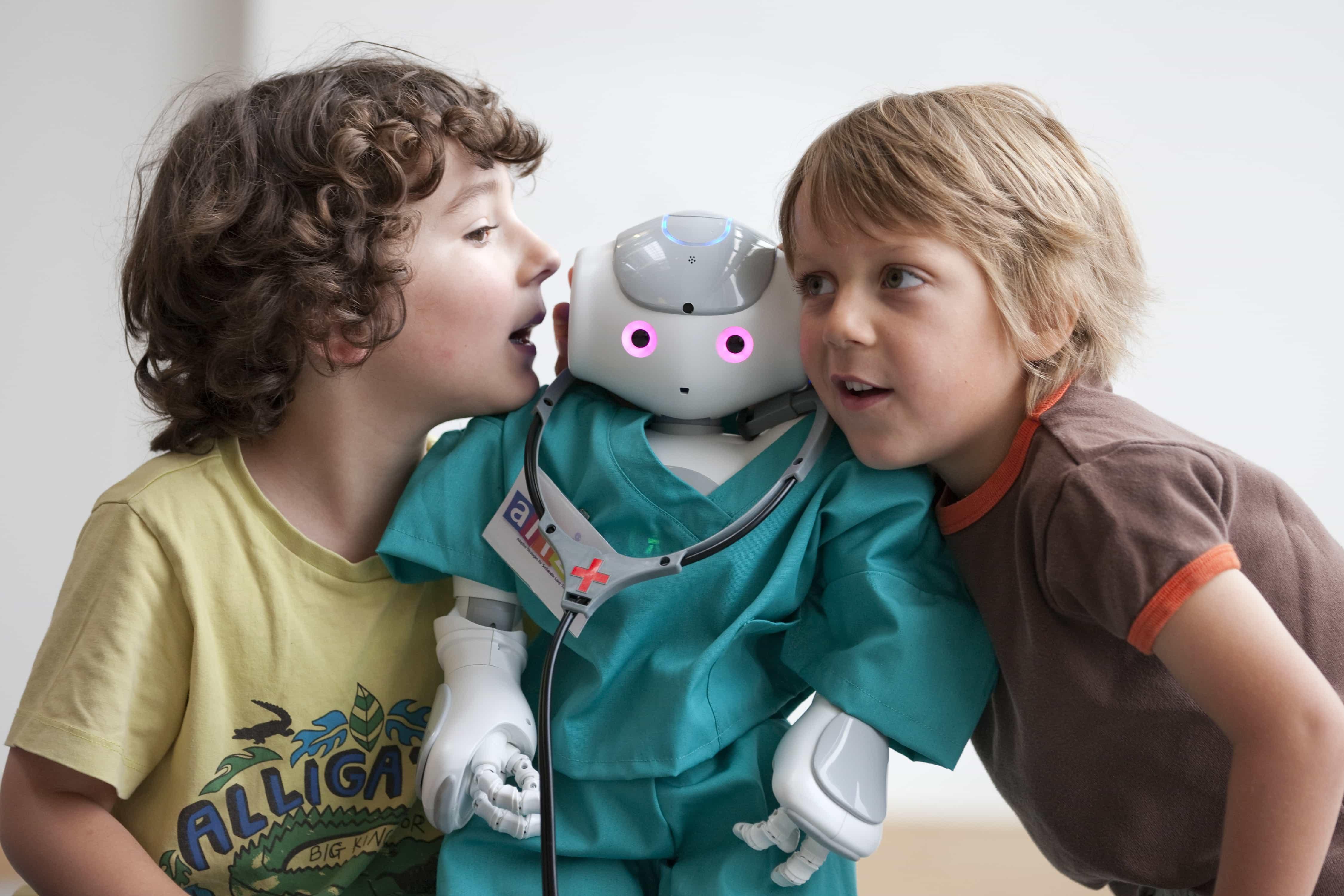 Создан робот для обучения детей-аутистов социальным навыкам