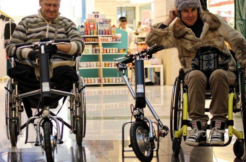 обычные инвалидные коляски будут управляться как электрические