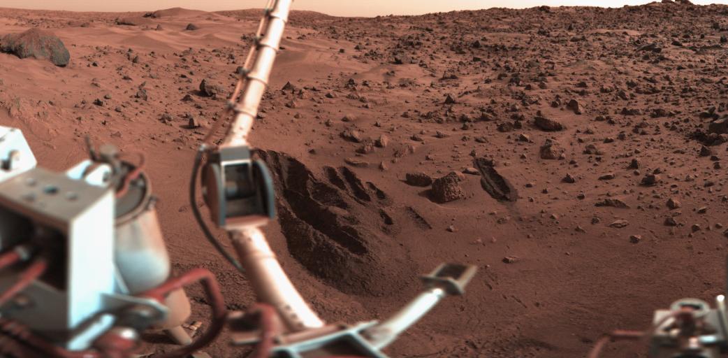 сорок лет назад мы высадились на Марс