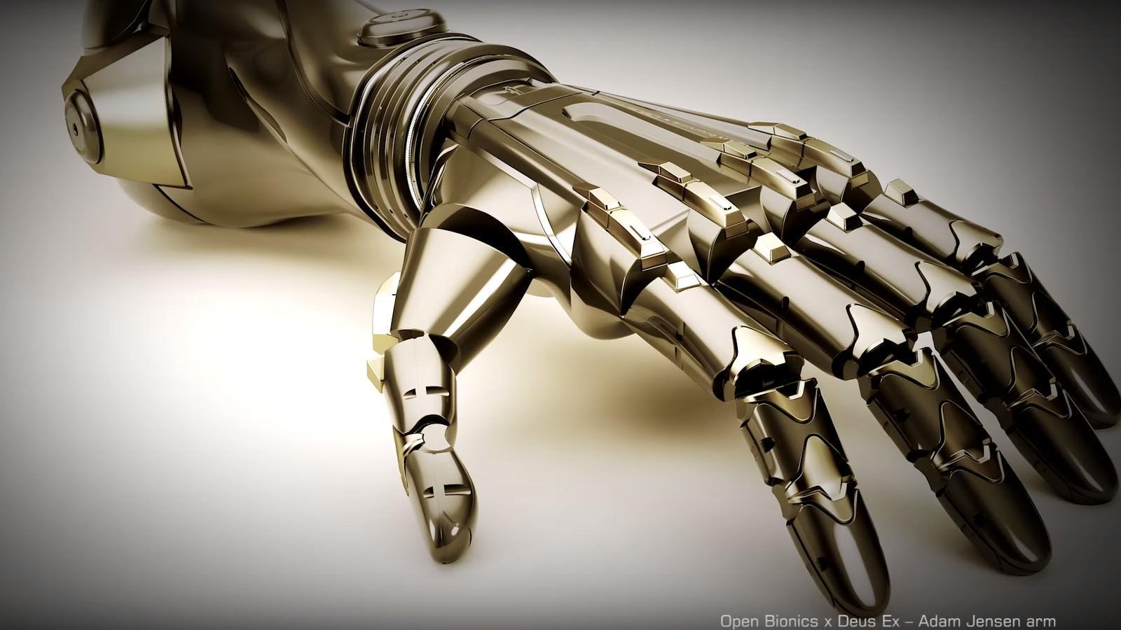 Бионическая рука из Deus Ex станет настоящим протезом