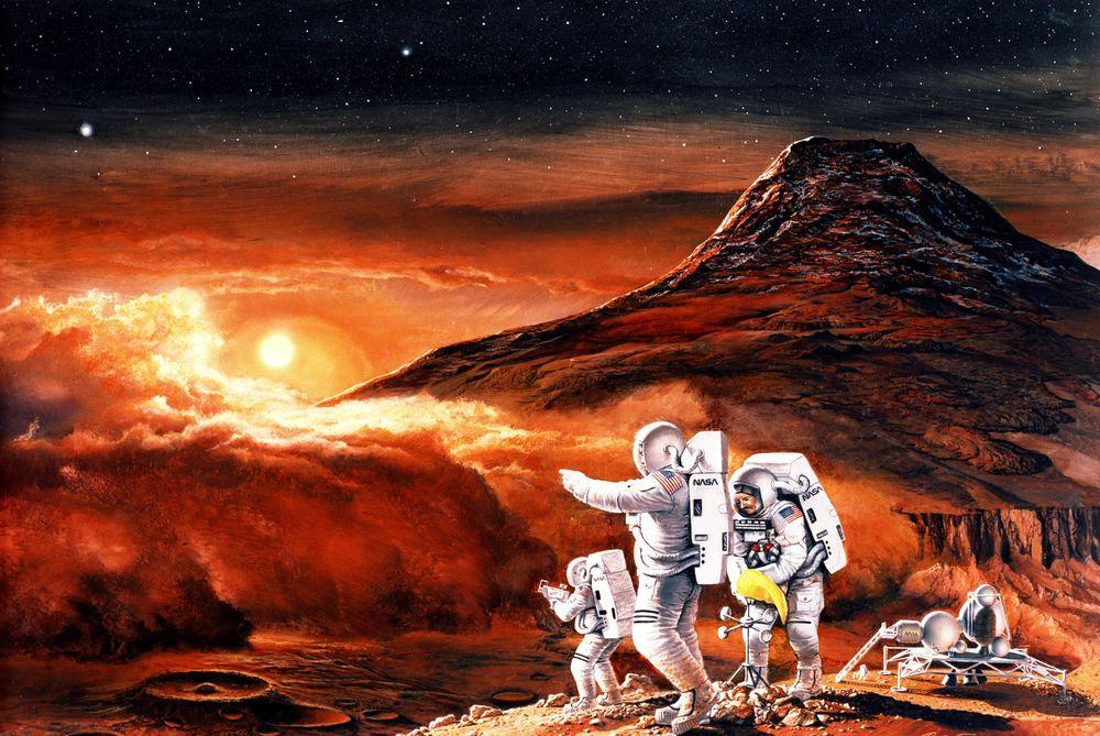 разве мы не должны найти жизнь на Марсе перед тем, как отправлять людей
