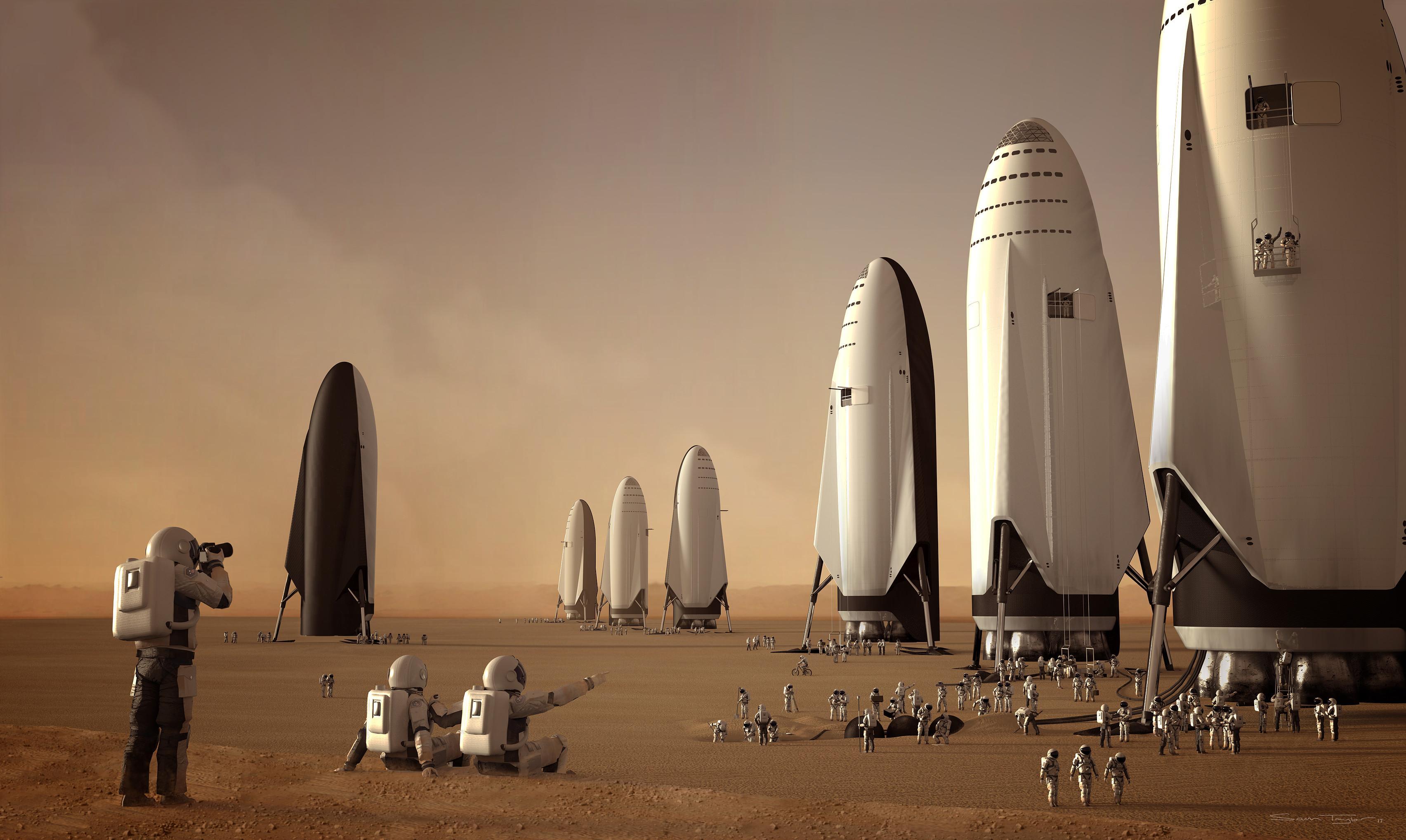 Самое важное о самой важной презентации SpaceX. Часть вторая: готовые умереть