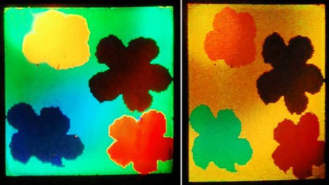 новый материал меняет цвет в зависимости от натяжения