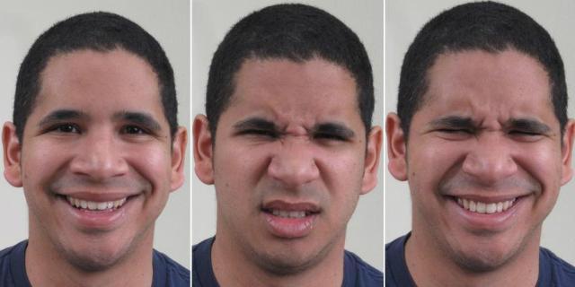 учёные выявили 21 эмоциональное выражение лица