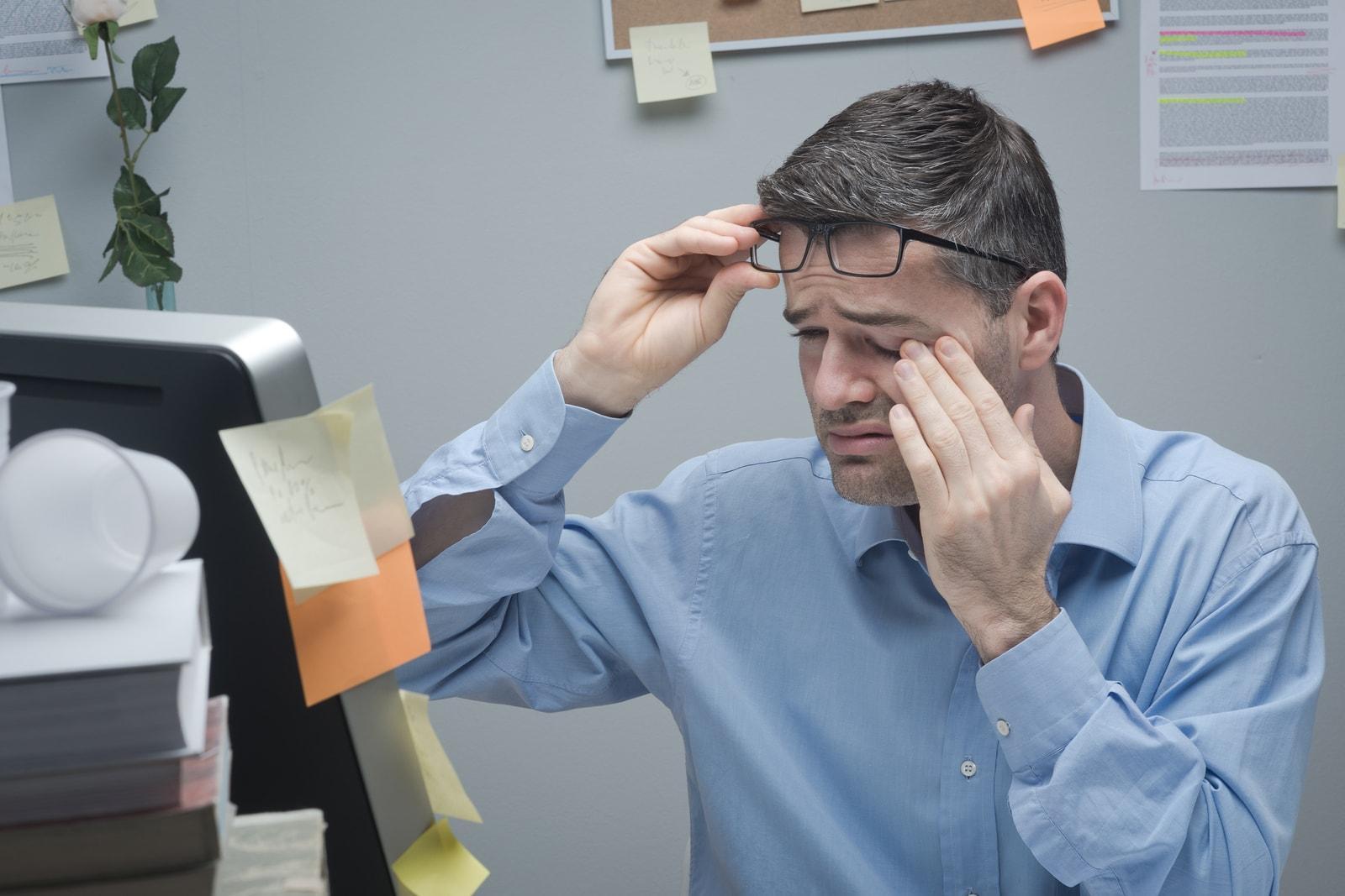 Синдром компьютерных глаз