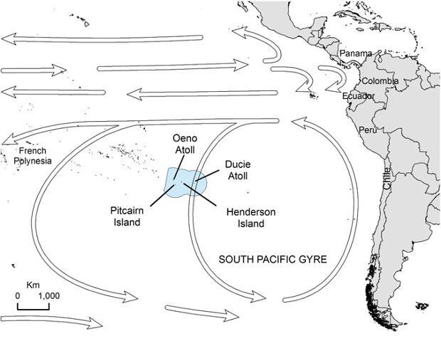 пластик добрался до отдаленных необитаемых островов