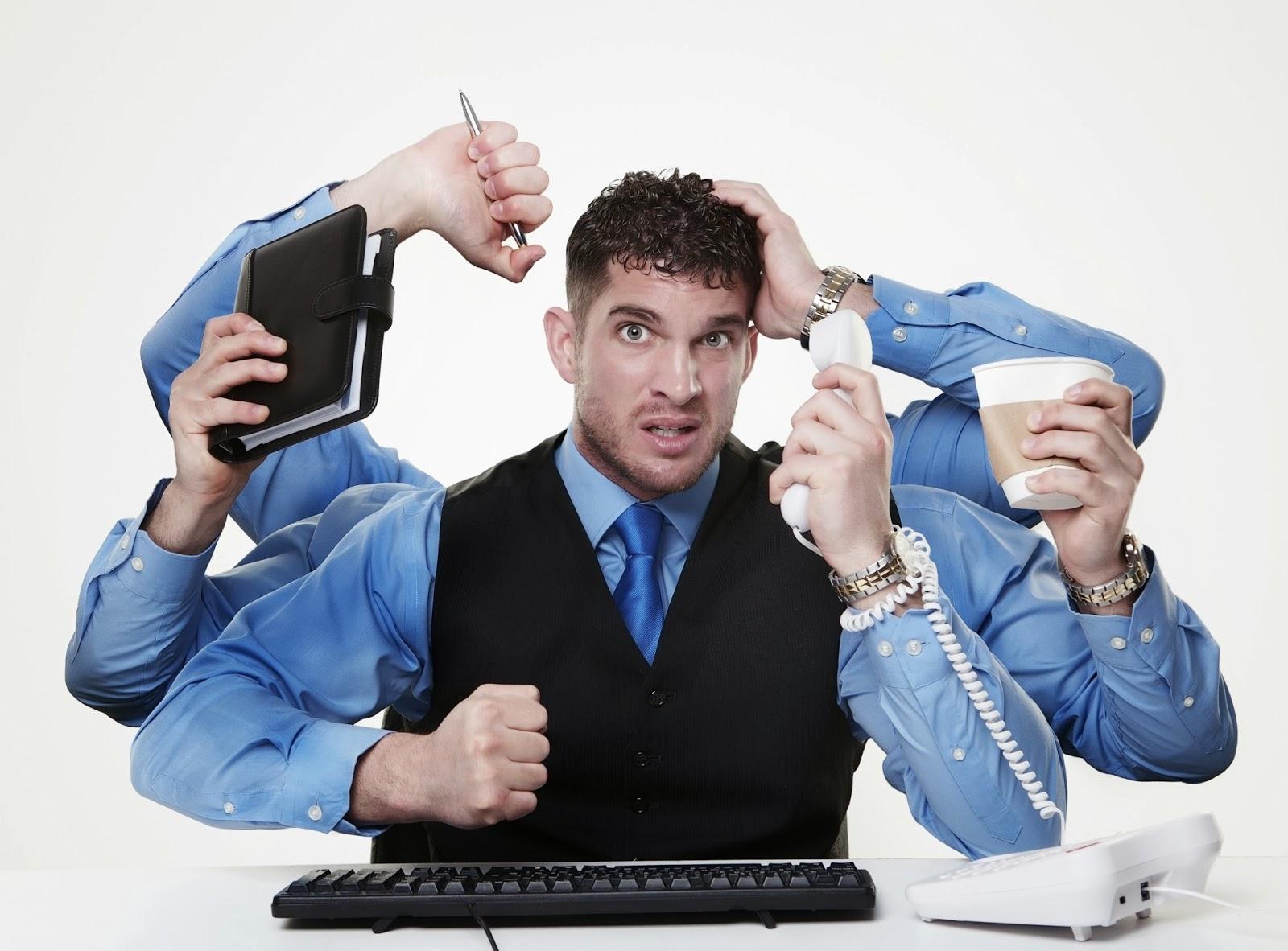Многозадачность снижает продуктивность мозга