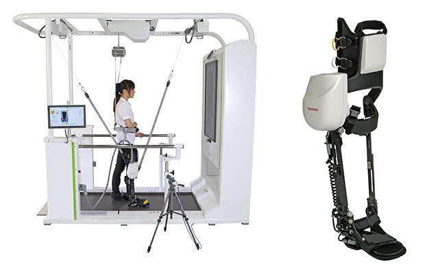 toyota сдаст в аренду роботизированные ноги