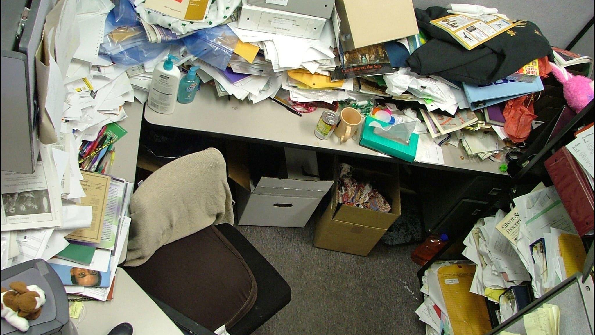Скука и грязь на рабочем месте вредны для мозга