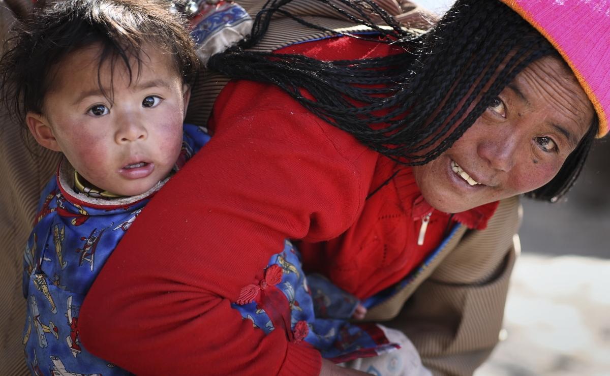 Современные жители Тибета