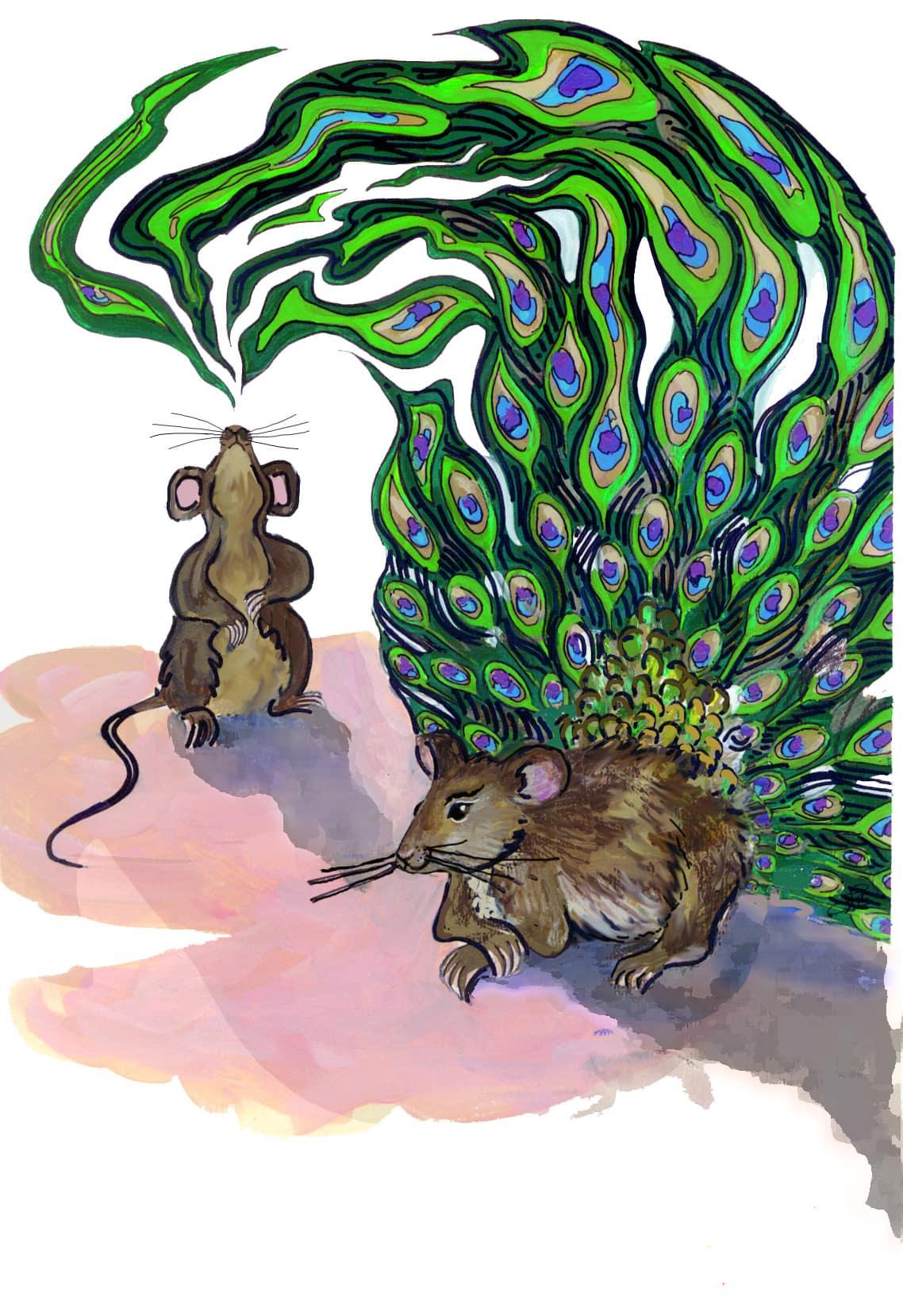 У гулящих мышей рождаются сексуально привлекательные сыновья