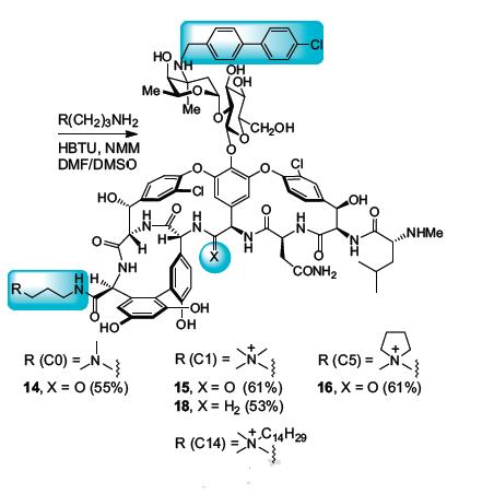 модификация ванкомицина оказалась суперэффективна против устойчивых бактерий