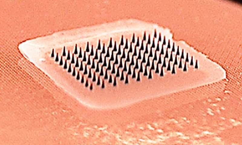 В США успешно испытали противогриппозную прививку-пластырь